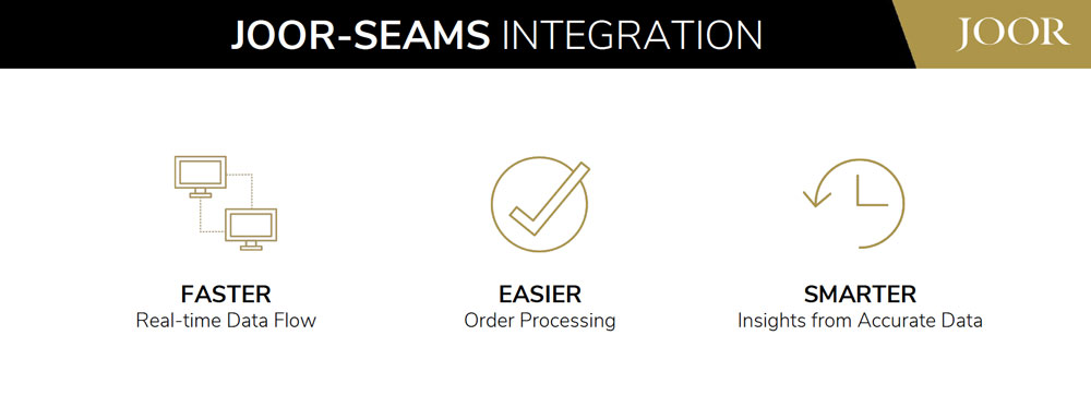Joor Seams integration